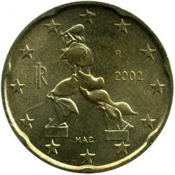 Moneta > 20eurocentų, 2002-2007 - Italija  - obverse