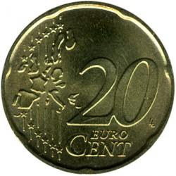 Moneta > 20eurocentų, 2002-2007 - Italija  - reverse