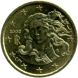 10 Eurocent 2002 2007 Italien Münzen Wert Ucoinnet
