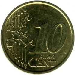 Moneta > 10eurocentów, 2002-2007 - Włochy  - reverse