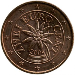 Coin > 2cents, 2002-2017 - Austria  - reverse