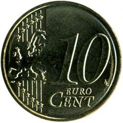 錢幣 > 10eurocent, 2007-2018 - 盧森堡  - reverse