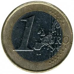 Münze > 1Euro, 1999-2006 - Niederlande  - reverse