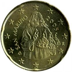 Monēta > 20centu, 2002-2007 - Sanmarīno  - obverse