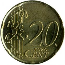 Monēta > 20centu, 2002-2007 - Sanmarīno  - reverse
