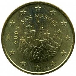 Moneda > 50céntimos, 2002-2007 - San Marino  - obverse