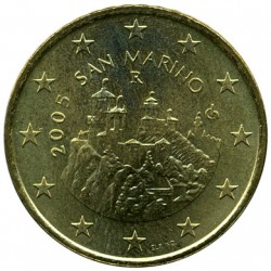 Moneda > 50céntimos, 2002-2007 - San Marino  - reverse