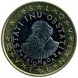 Νόμισμα > 1Ευρώ, 2007-2017 - Σλοβενία  - obverse