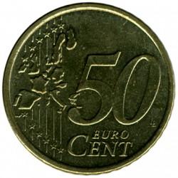 Monedă > 50eurocent, 1999-2006 - Finlanda  - reverse