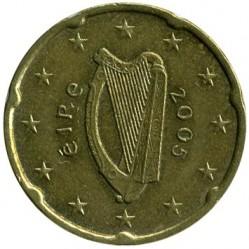 سکه > 20eurocent, 2002-2006 - ایرلند  - obverse