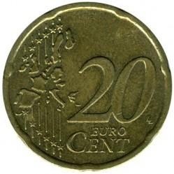 العملة > 20يوروسنت, 2002-2006 - ايرلندا  - reverse