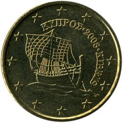 Coin > 10eurocent, 2008-2018 - Cyprus  - reverse