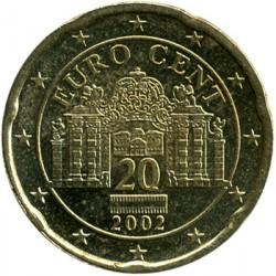 Coin > 20cents, 2002-2007 - Austria  - obverse