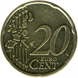 Монета > 20євроцентів, 2002-2007 - Австрія  - obverse