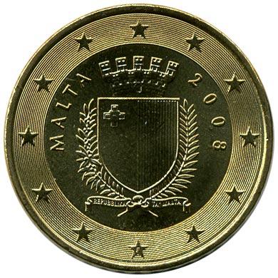 50 Eurocent Malta Münzen Wert Delikatessiystadse