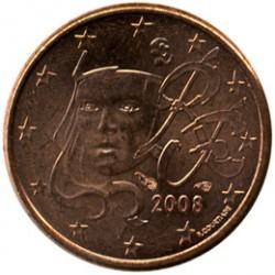 العملة > ١سنت, 1999-2017 - فرنسا  - obverse