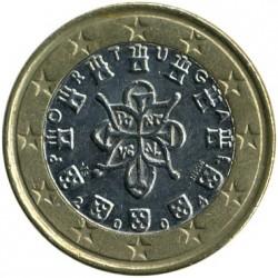 Münze > 1Euro, 2002-2008 - Portugal  - obverse