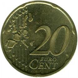 Монета > 20євроцентів, 2002-2006 - Німеччина  - reverse