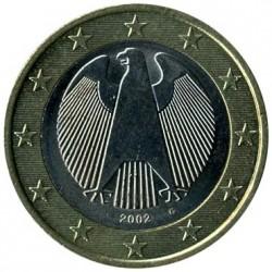 Moneta > 1euras, 2002-2006 - Vokietija  - obverse