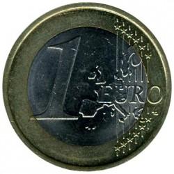Moneta > 1euras, 2002-2006 - Vokietija  - reverse
