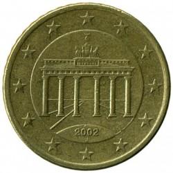 Moneta > 50centų, 2002-2006 - Vokietija  - obverse