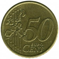 Moneta > 50eurocentų, 2002-2006 - Vokietija  - obverse