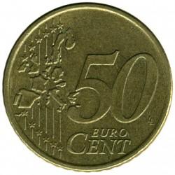 Moneta > 50centų, 2002-2006 - Vokietija  - reverse