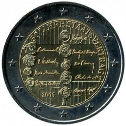 Moneda > 2euro, 2005 - Àustria  (50è aniversari - Tractat del Estat austríac) - obverse