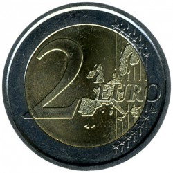 Moneda > 2euros, 2004 - Italia  (50 Aniversario - Programa Mundial de Alimentos) - obverse
