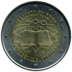 Moneta > 2eurai, 2007 - Italija  (Romos sutarties pasirašymo 50-metis) - obverse