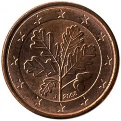 Moneta > 1eurocent, 2008 - Niemcy  - reverse