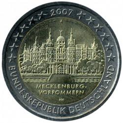 Монета > 2евро, 2007 - Германия  (Шверинский Замок, Мекленбург-Передняя Померания) - obverse