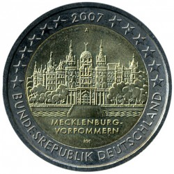 Монета > 2евро, 2007 - Германия  (Шверинский Замок, Мекленбург-Передняя Померания) - reverse