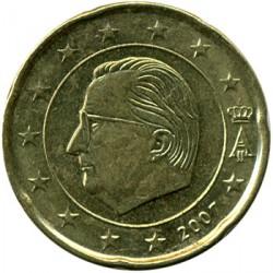 Monēta > 20eurocent, 2007 - Beļģija  - obverse