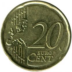 Monēta > 20centu, 2007 - Beļģija  - reverse