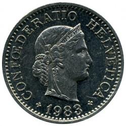 Монета > 10раппен, 1879-2017 - Швейцарія  - obverse