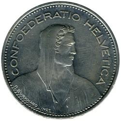 Moneta > 5franków, 1995 - Szwajcaria  - obverse
