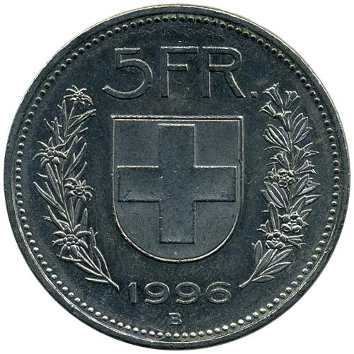 5 Franken 1968 2017 Schweiz Münzen Wert Ucoinnet