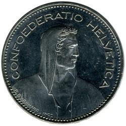 Moneta > 5franków, 2000 - Szwajcaria  - obverse