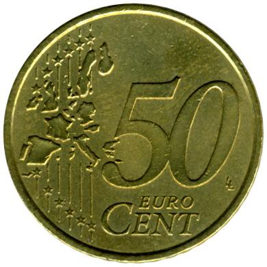 50 Eurocent 2002 2006 Griechenland Münzen Wert Ucoinnet