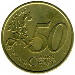 錢幣 > 50eurocent, 2002-2006 - 希臘  - reverse