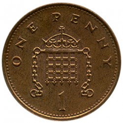 Coin > 1 penny, 1994 - United Kingdom  - reverse