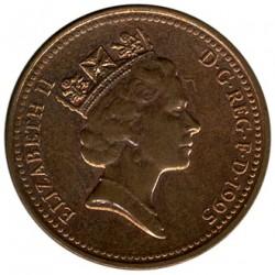 Minca > 1penny, 1992-1997 - Veľká Británia  - obverse