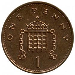 Minca > 1penny, 1992-1997 - Veľká Británia  - reverse