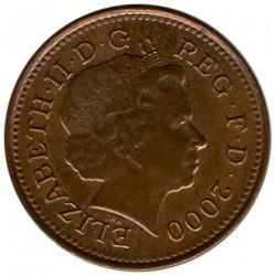 Монета > 1пенни, 1998-2008 - Великобритания  - obverse