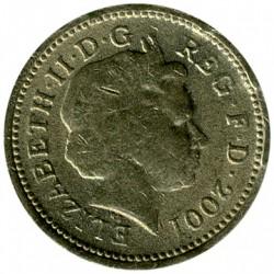 Munt > 1pound, 2001 - Verenigd Koninkrijk  - obverse