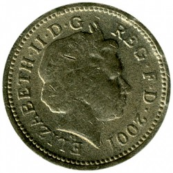 Moneta > 1svaras, 2001 - Jungtinė Karalystė  - obverse