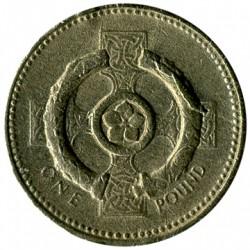 Moneta > 1svaras, 2001 - Jungtinė Karalystė  - reverse