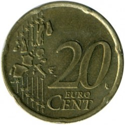 Münze > 20Cent, 1999-2006 - Niederlande  - obverse