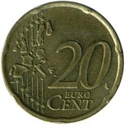 Münze > 20Cent, 1999-2006 - Niederlande  - reverse